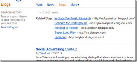 Bing Social Advertising Blogs