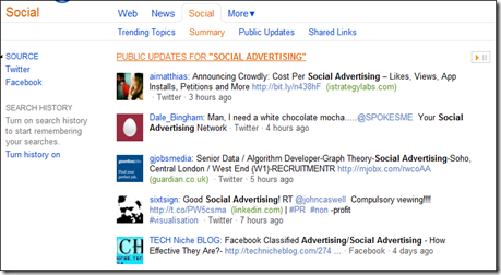 Bing Social Advertising Summary